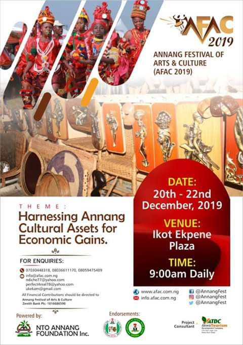 Annang Festival of Arts and Culture AFAC 2019