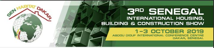 3RD SENEGAL INTERNATIONAL HOUSING, BUILDING & CONSTRUCTION EXHIBITION & CONFERENCE
