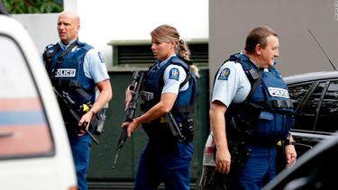 In photos: Terror attack at New Zealand mosques