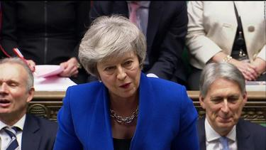 Theresa May faces no-confidence vote after Brexit plan defeat -- live