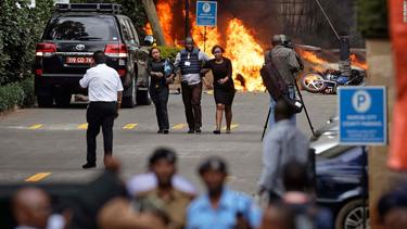 At least 14 killed as Kenya hotel siege is declared over