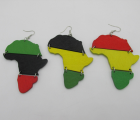 Rasta Earrings (3 pair)