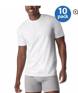 Packet de 10 Hanes T-shirts