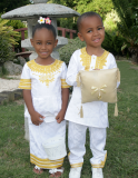 Sibling Love- Matching Solid 2 Piece Embroidered Outfits