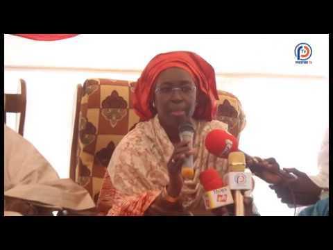 Discours de Mme Nd\u00e8ye Ramatoulaye Gueye Diop \u00e0 la c\u00e9r\u00e9monie Rel